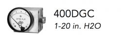 400DGC 1-20 in. H2O