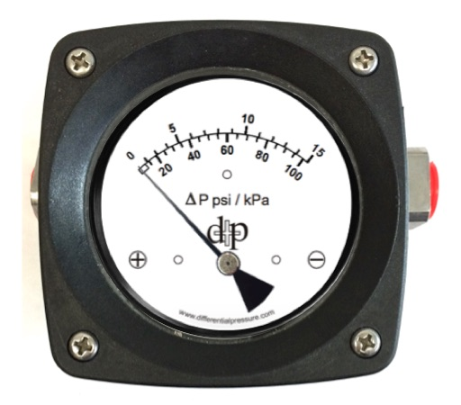 200DPG 15 Differential Pressure Gauge