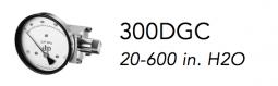 300DGC (20-600 in. H2O)