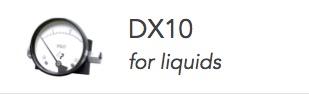 DX10 Differential Pressure Guage
