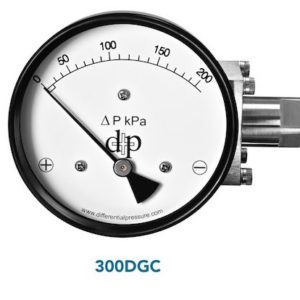 300DGC Diaphragm Family Differential Pressure Gauge