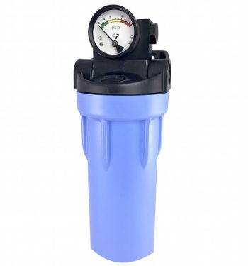 GX100 Differential Pressure Gauge On Filter