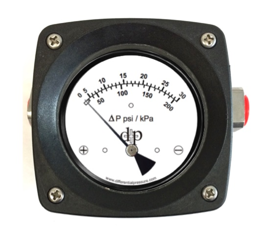 200DPG 30 Differential Pressure Gauge