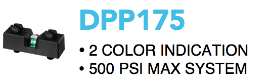 DPP175 Filter Status Indicator