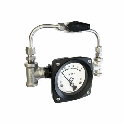 by pass valve differential pressure gauge