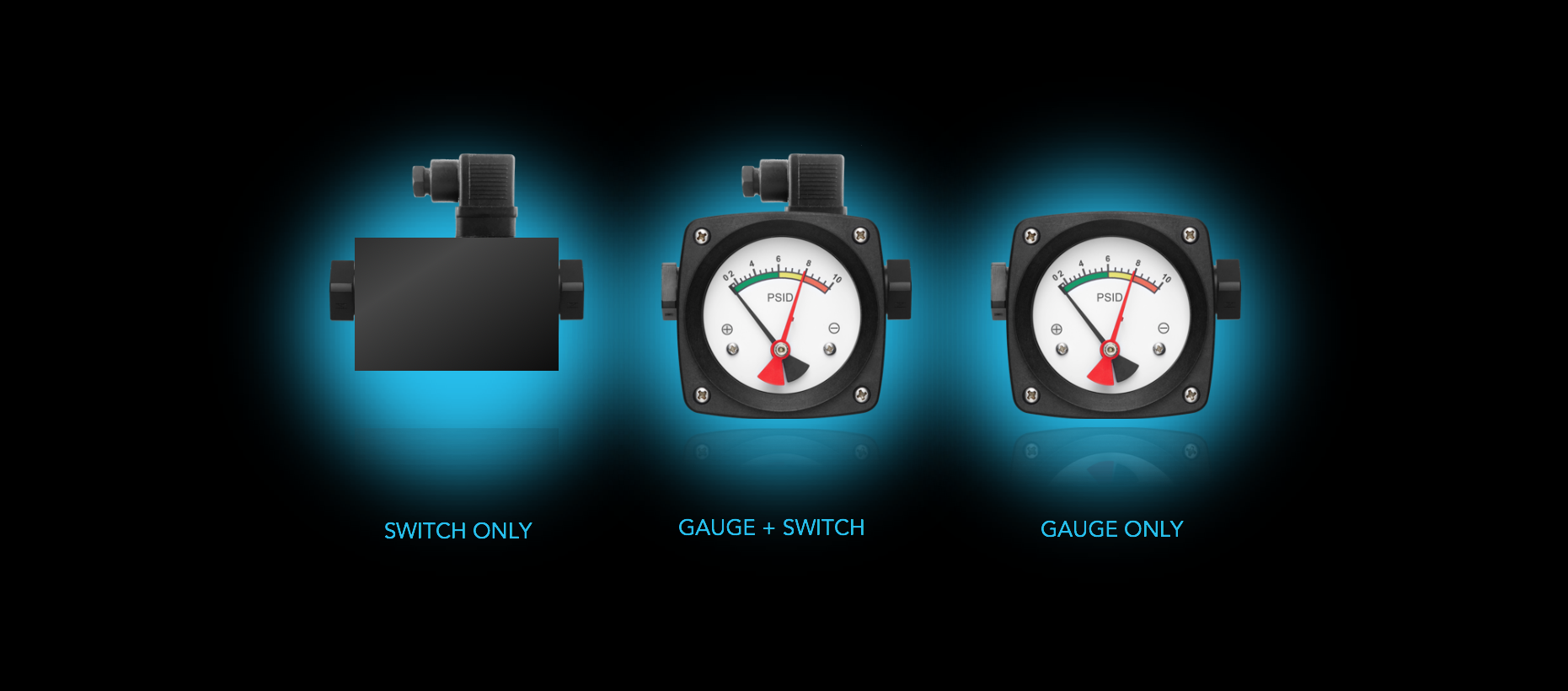 Available on All Standard Gauges