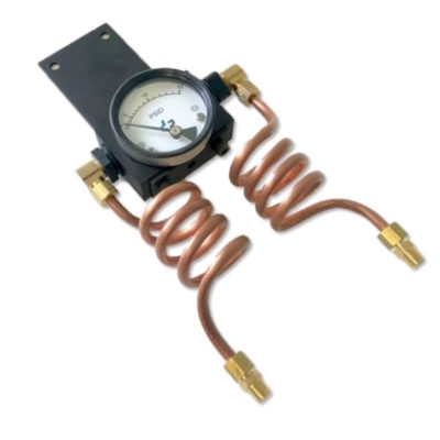 differential pressure gauge copper coil